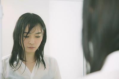 ずぶぬれ鏡